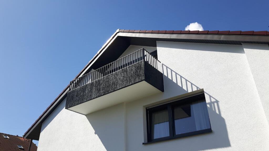 Montage Balkon Zirn Schlosserei Schad
