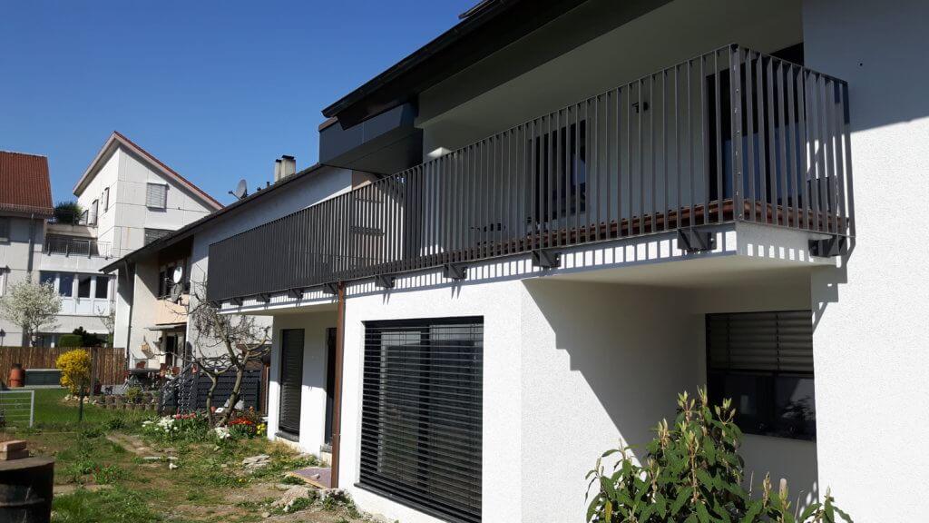 Montage Balkon Zirn Schlosserei Schad (2)