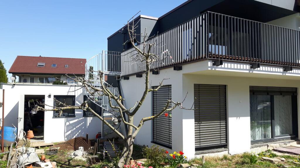 Montage Balkon Zirn Schlosserei Schad (3)