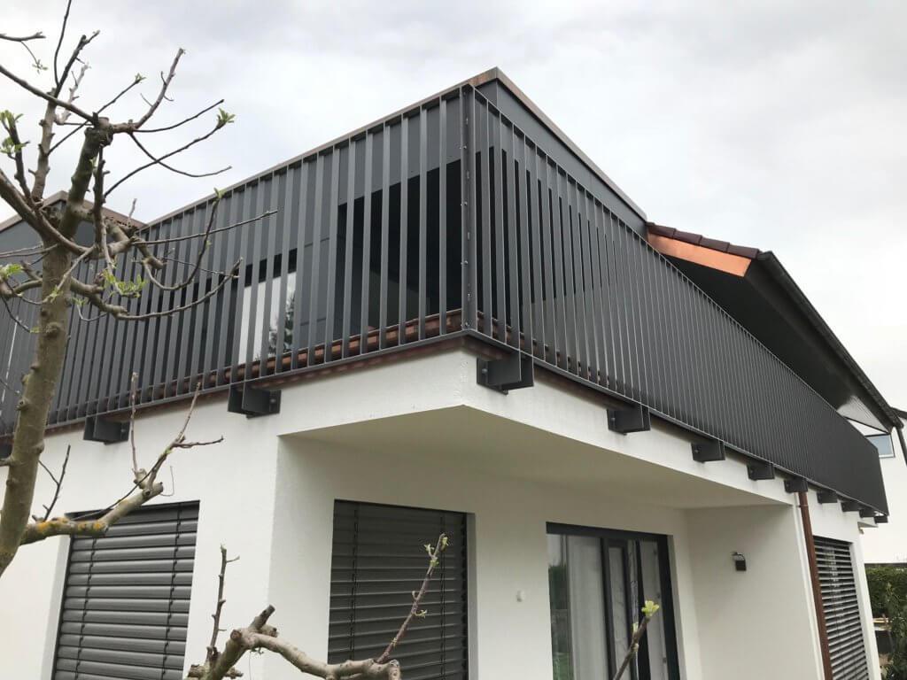 Montage Balkon Zirn Schlosserei Schad (8)